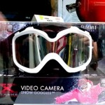 Горнолыжная маска со встроенной видеокамерой. Snow Camera Goggle