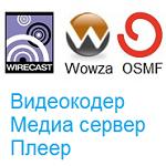 Медиа серверы (Wowza, Erlyvideo, FMS) и компоненты систем видео трансляций