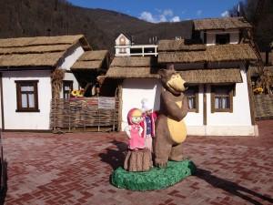 Красная поляна, Маша и Медведь