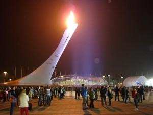 Олимпийский факел, Сочи 2014
