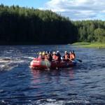 Отпуск и несколько фотографий со сплава по реке