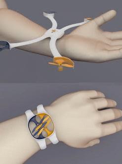 Nixie-hand