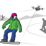 Летающая камера. Смотрим видео
