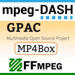 Создание контента MPEG-DASH с помощью MP4Box и FFmpeg
