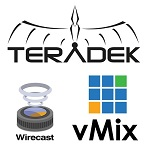 Устройства Teratek могут сами отправлять потоки на WireCast и vMix