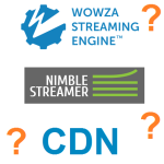 Streaming systems CDN