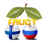 Наше участие в международной конференции FRUCT в Санкт-Петербурге