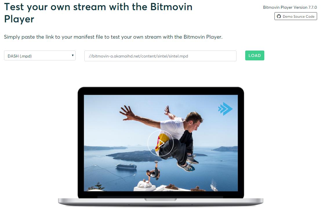 Тестирование потоков с использованием плеера Bitmovin » IT и